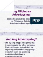 Filipino Sa Advertaysing