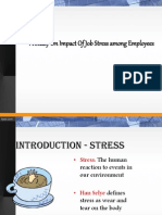 A Study on impact of job stress