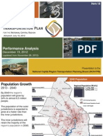 MWCOG's 2012 Transportation Analysis under the Constrained Long Range Plan (CLRP)