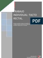 Trabajo Individual Tacto Rectal