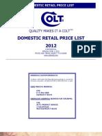 Colt 2012 Retail PL June 1 2012