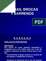 Barras Brocas y Barrenos