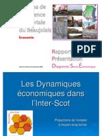 SCoT Beaujolais_Rapport de Présentation_Diagnostic_Socio-Eco_Economie