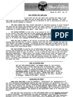 Citizens Committee to Save Elysian Park - Newsletter Number 053 - March 14, 1973