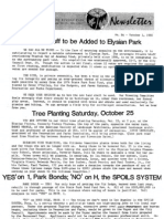 Citizens Committee to Save Elysian Park - Newsletter Number 084 - October 1, 1980