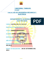 Informe 3 de Laboratori de Circuito(Transformadores)
