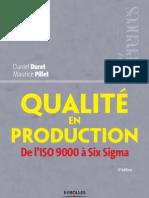 Qualité en production