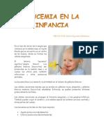 Leucemia en La Infancia