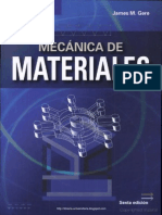 Mecánica de Materiales 6ed - James M. Gere