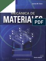 Mecánica de Materiales 6ed - James M. Gere