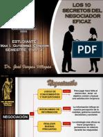 10 Secretos Del Negociador Eficaz