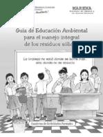 Guia Educacion Ambiental Manejo Residuos Solidos Actividades Formales