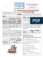 Jr. K Newsletter Week 22