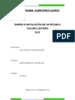Diseño e Implementación de un Establo vacuno