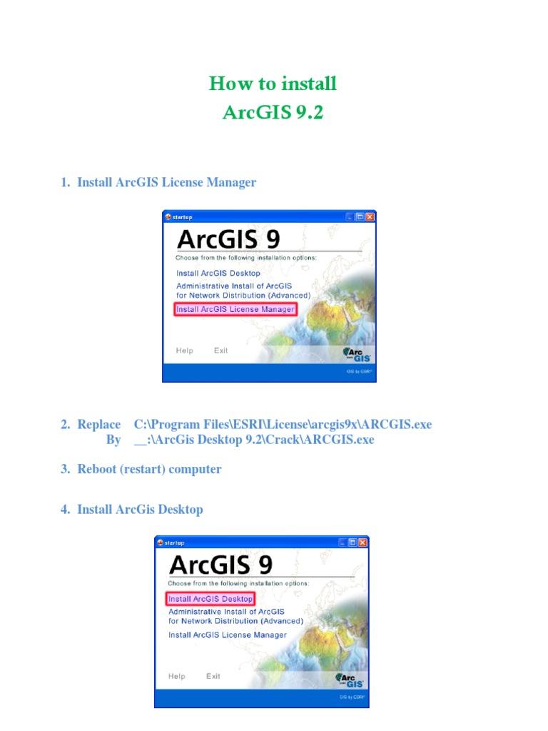 Arcgis 9.3 1 Crack