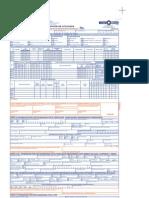 Formulario Único de Inscripción