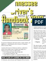 Tennessee Driver's Handbook -2011-2013