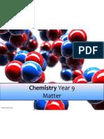 chemistry yr 9 matter 2013