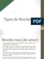 Tipos de Novela