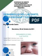 Crecimiento y Desarrollo en Lactante y Preescolar