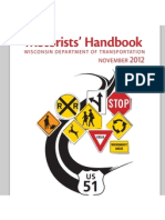 Wisconsin Motorists Handbook 2012-2013