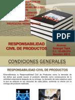 Responsabilidad Civil de Productos