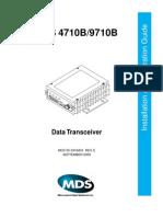 MDS 4710 Manual