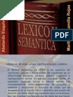 1. L+ëXICO Y SEM+üNTICA