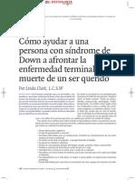 108448364 Como Ayudar a Una Persona Con Sindrome de Down a Afrontar La Enfermedad Terminal y La Muerte de Un Ser Querido by Luis Vallester Psicologia Documento