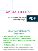 Statistics Chapter 5.1