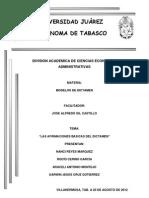 AFIRMACIONES BASICAS DEL DICTAMEN Y TOMA DECISIONES (1).docx
