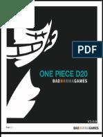 One Piece D20 2.0.0