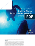 Guide for Planners and Managers to Design Resilient Marine Protected Area Networks in a Changing Climate