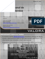 Analisis Acciones Colombia 5 Semana Enero
