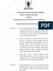 Permenkes No. 512 Tahun 2007 - Izin Praktek & Pelaksanaan Praktek Kedokteran