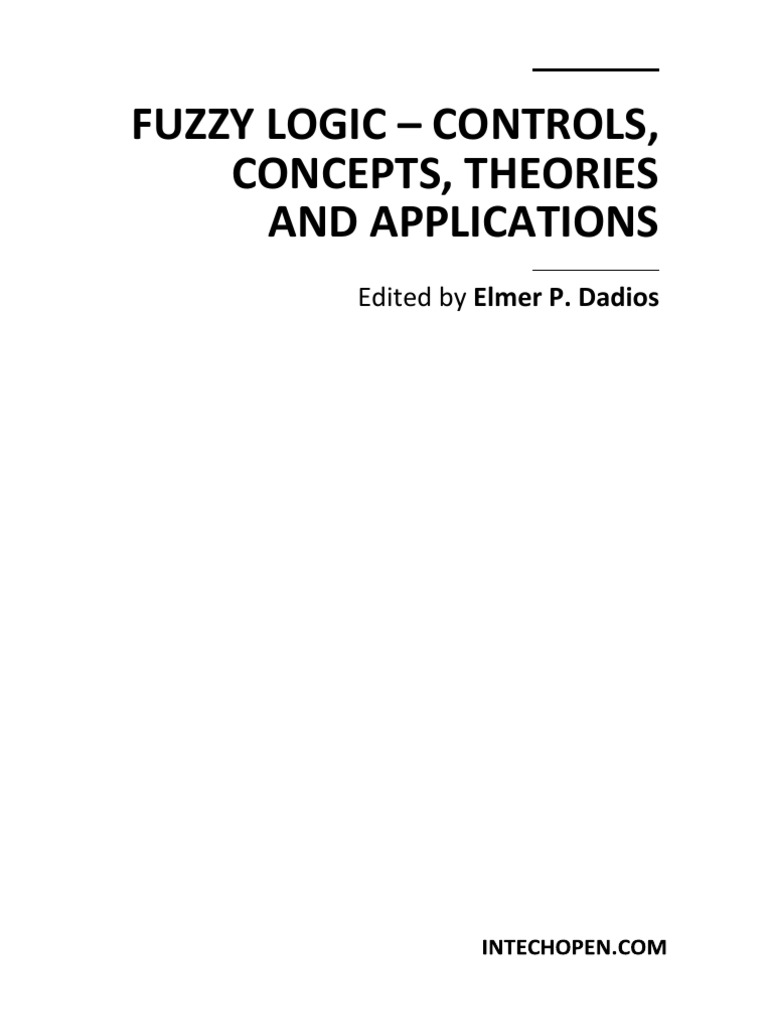 fuzzy logic controls concepts theories and applications rh scribd com Powerpuff Girls Fuzzy Logic fuzzy logic with engineering applications timothy ross solution manual