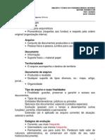 12.03.17 - Semestral Tec. Anal. Tribunais - Liberdade - Sabado - Arquivologia - Rodrigo