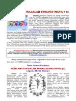 Majalah Teologi Maya #01
