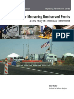 Five Methods for Measuring Unobserved Events