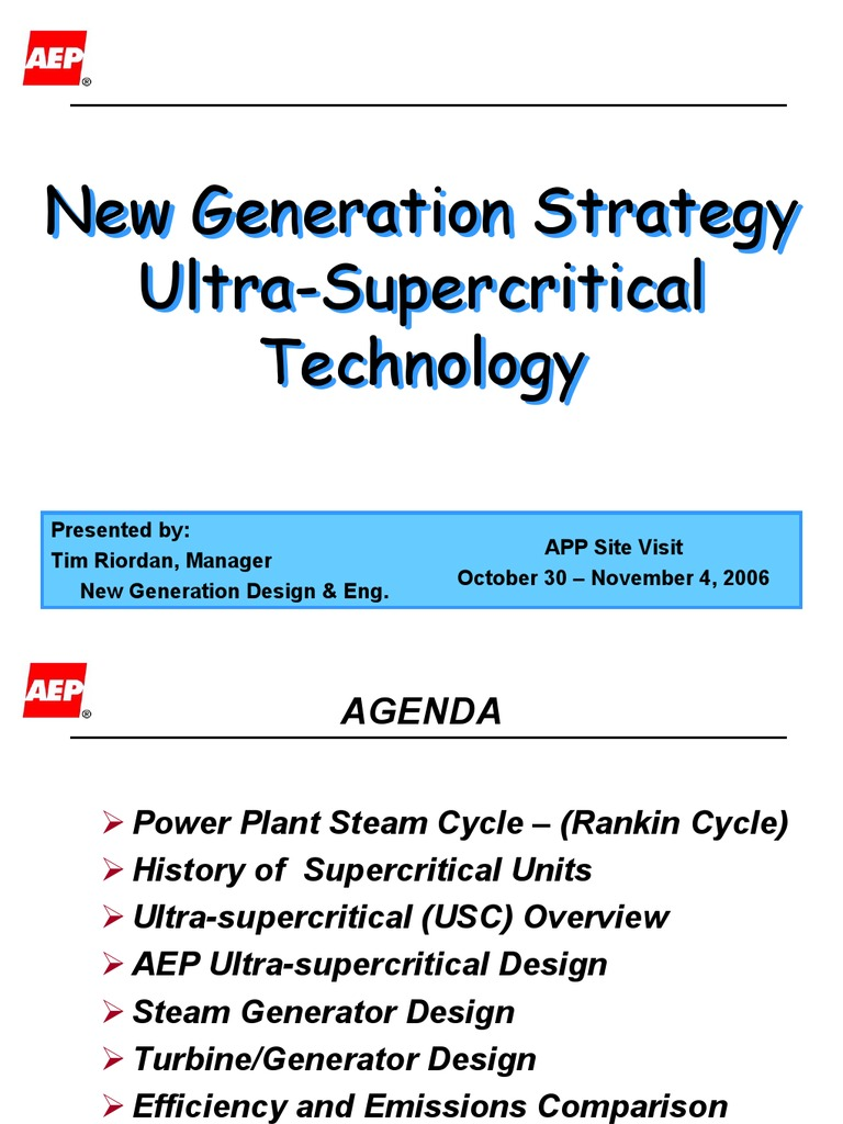 ultra super technology | Boiler | Steam
