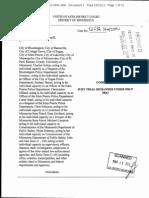 Anne Marie Rasmusson DPPA Complaint Minnesota DVS