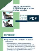 Esguince Cervical 1er Nivel