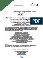 Info-Konversationskurs Sprache Und Beruf