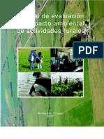 Manual Estudio de Impacto Ambiental