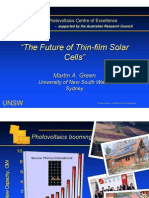 The Future of Thin-film Solar