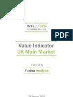 value indicator - uk main market 20130128