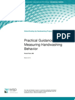 Practical Guidance for Measuring Handwashing Behavior