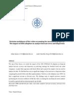 Decisionusefulnessoffairvalueaccountingforinvestmentproperty: TheimpactofIFRSadoptiononanalystforecasterroranddispersion
