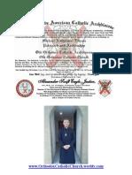 Archbishop Michael's Oath