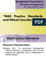 mas practice standards and ethical requirements